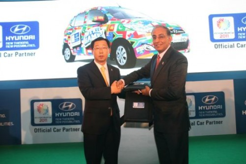 Hyundai – Official Car Partner of World Cup Cricket